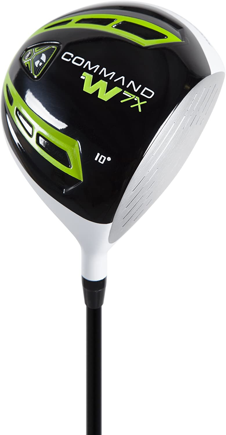 Pinemeadow Golf Command W7X Driver, Right Hand, Graphite, Regular, 10.5-Degree