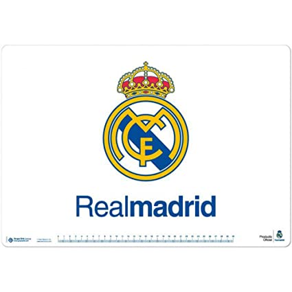 Real Madrid – Logo – Vade de sobremesa (35 x 50 cm aprox., se ...