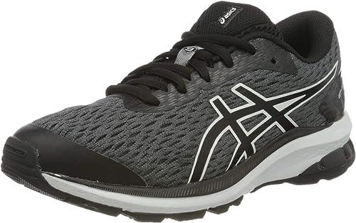 Asics Unisex-Child GT-1000 9 GS Running Shoe, Black/White ...