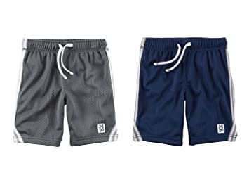 094c52097 Image Unavailable. Image not available for. Color: Carter's Toddler Boys 2  Pack Active Mesh Shorts ...