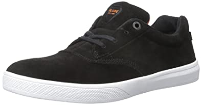 Globe Mens The Eagle Skateboarding Shoe BlackOrangeWhite