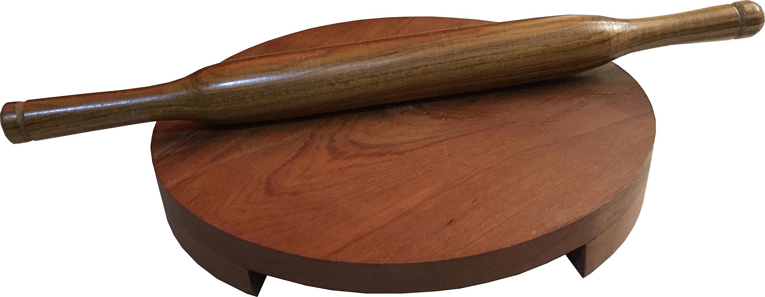 Polpat,Wooden Belan Chakla set,Wooden Belan Chapati (Roti) maker,Chakla,Wooden Chakla,Chapati maker,Roti Maker,Circular Board(Chakla),Rolling Pin(Belan),Chakla and Belan Set,Chakla Belan