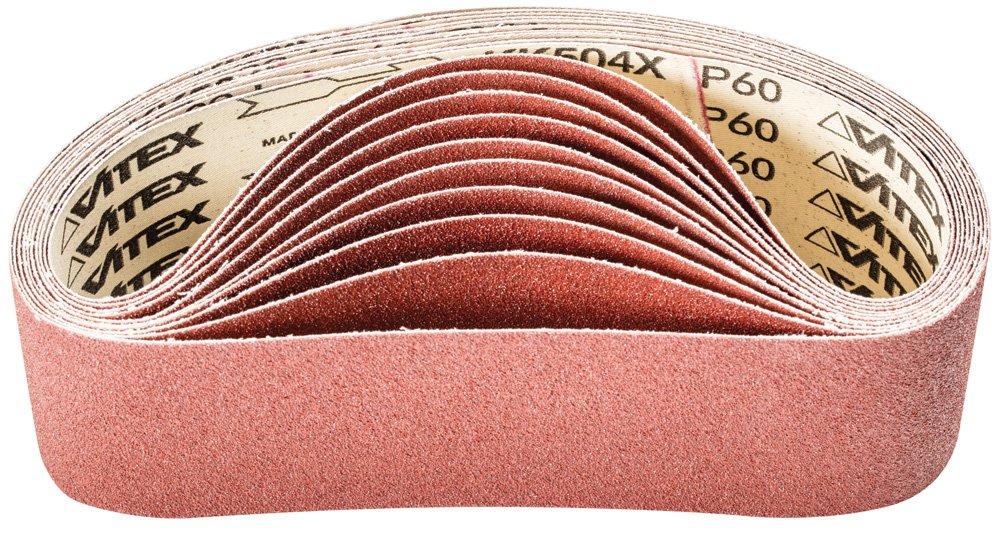 Pack of 10 Aluminum Oxide A PFERD 49213 Portable Abrasive Belt 60 Grit 21 Length x 3 Width