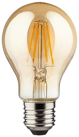 Vintage LED 4 Watt Leuchtmittel E27 dimmbar Energie Spar Lampe 350 lm FILAMENT