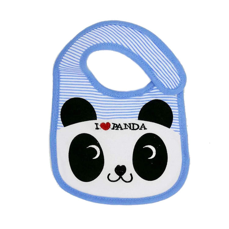 100/%Cotton Newborn Baby Bibs Cartoon Animal GirlsBoys Bibs Burp Cloth Infant Bib