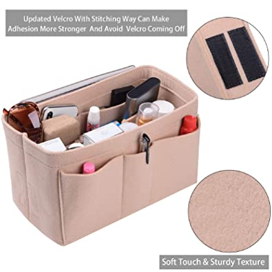 Amazon.com: Purse Organizer Insert, Felt(3MM) Fabric Bag ...