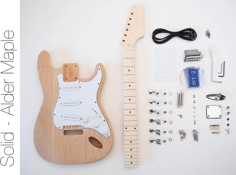 The FretWire DIY Kit de guitarra eléctrica – Estilo ST construir ...