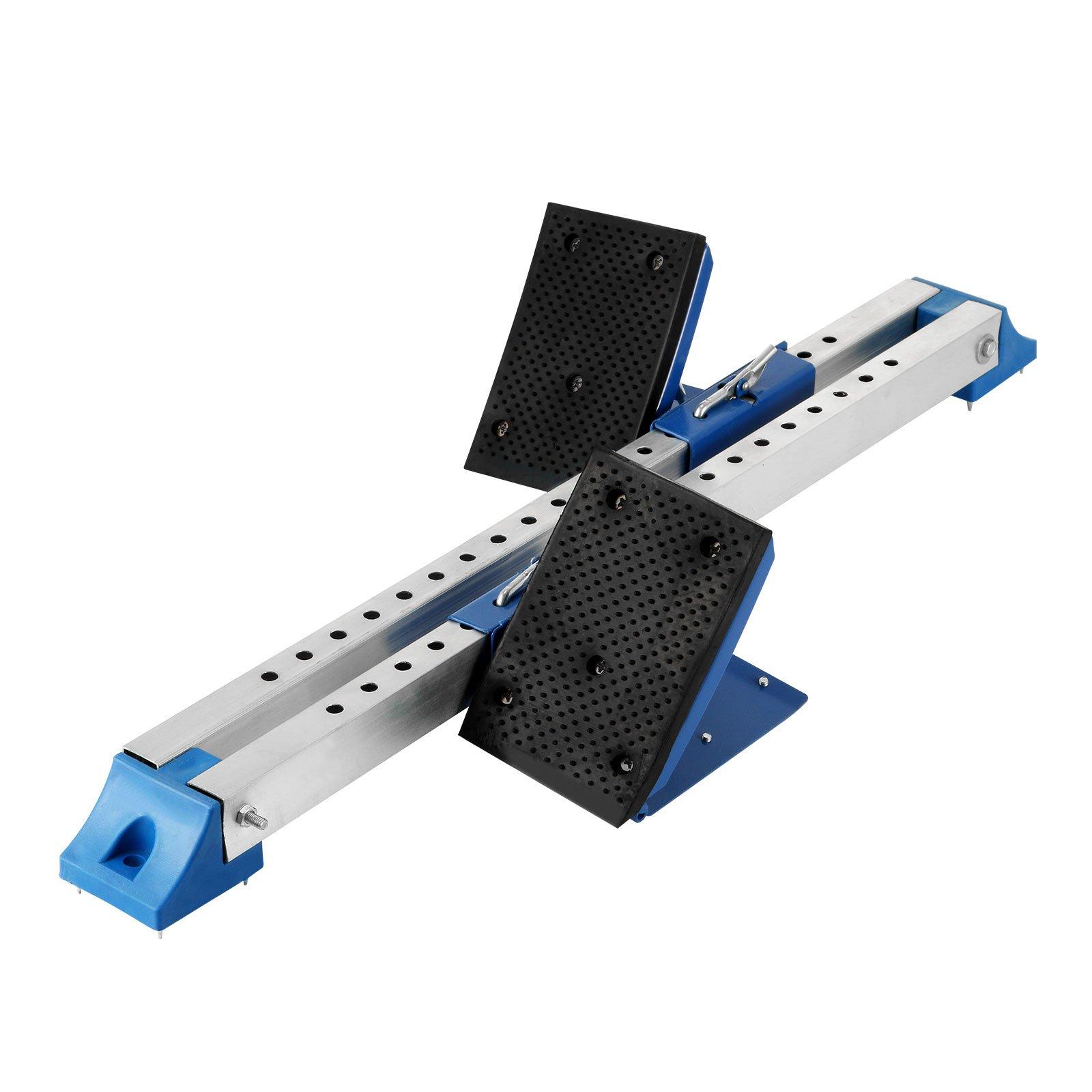 Happybuy Starting Block Multi-Function Starting Block Pedals Adjustable Sprinter Starting Block Starting Blocks Track and Field Aluminum Suitable for Plastic Runway Cinder Track (Black)