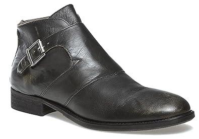 Guess - Mocasines de Piel para Hombre, Color Negro, Talla 40 EU: Amazon.es: Zapatos y complementos