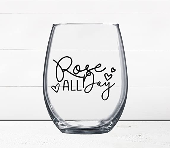 Amazon Com Gift Under 10 Rose Funny Wine Glass Quotes On