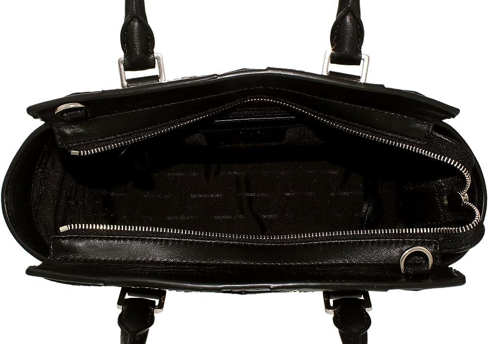 67d614e9fe33a4 Women's Medium Selma Diamond Grommet Satchel Leather Top-Handle Bag Tote