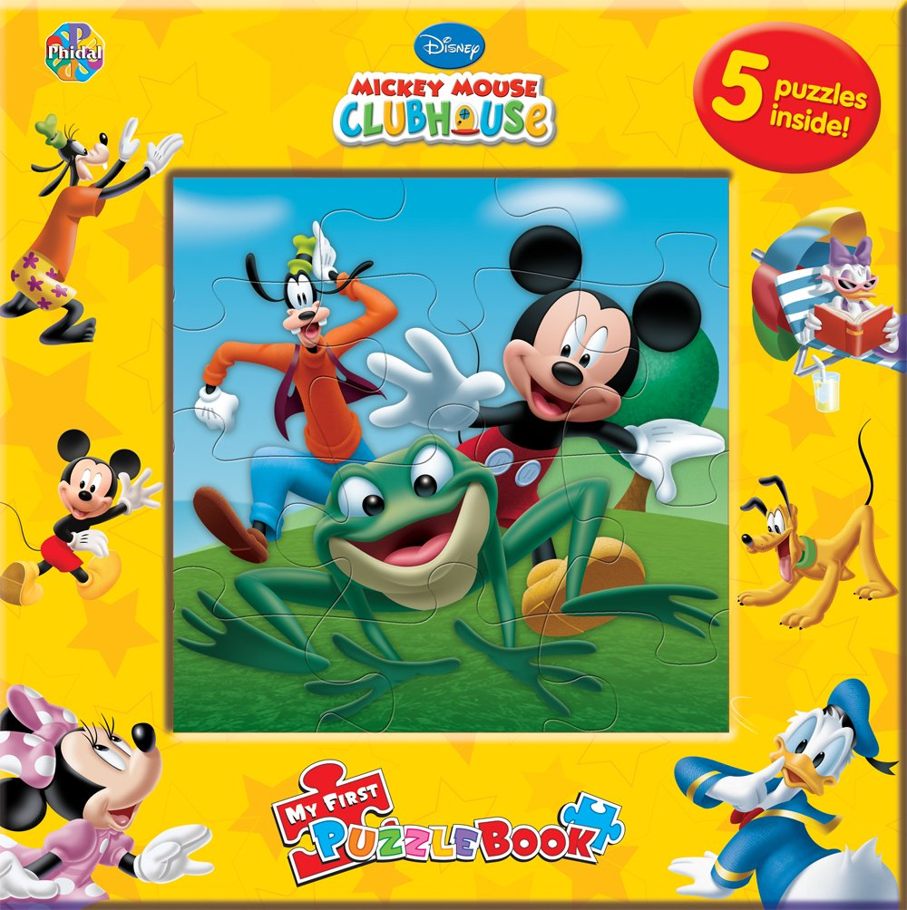 Download Disney Mickey Mouse Clubhouse My First Puzzle Book pdf