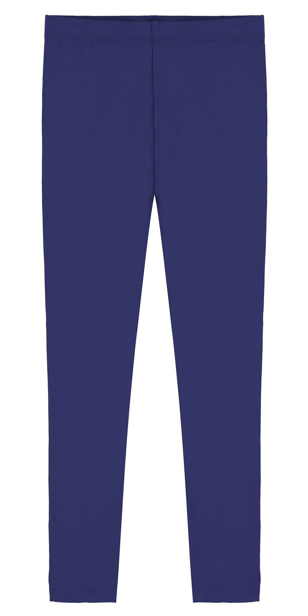 Popular Little Girl's Cotton Ankle Length Leggings - Royal Blue - 4