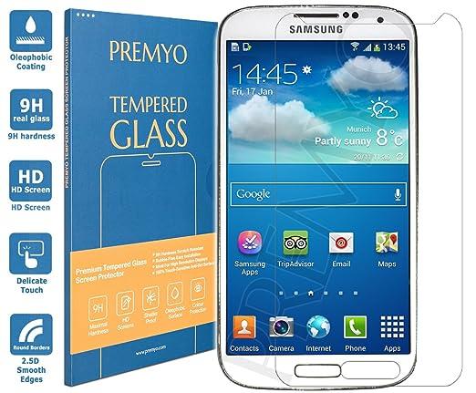 25 opinioni per PREMYO vetro temperato Samsung S4 mini. Pellicola vetro temperato S4 mini con