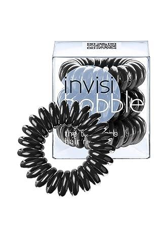 Invisibobble Traceless Haargummi Und Armband True Black 3 Stück