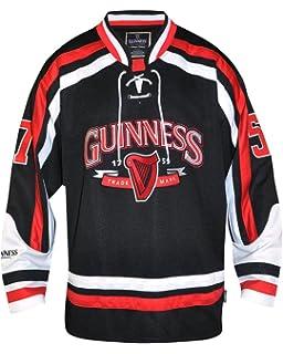 Guinness Trademark Label Hockey Jersey White 44816527e65