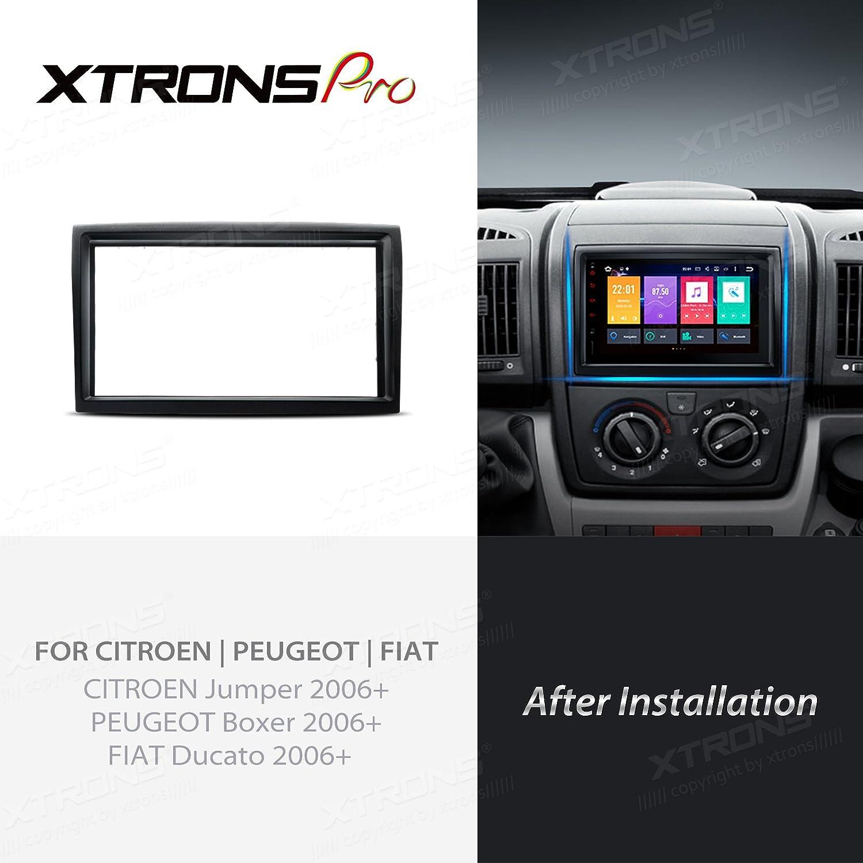 Xtrons Double Din Facia Adaptor For Peugeot Boxer Elektronik