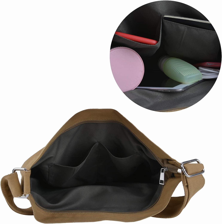 Fanspack sac besace femme sac cabas femme sac bandouliere femme sacoche femme en toile