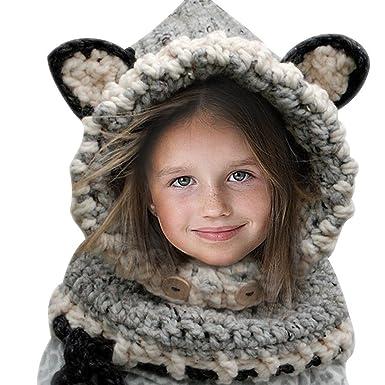 Bonnet laine fille bonnet laine bleu marine   Travauxchezvous b4f5c214363