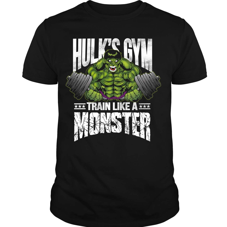 S Gym Train Like A Monster T Shirt T Shirt 3844