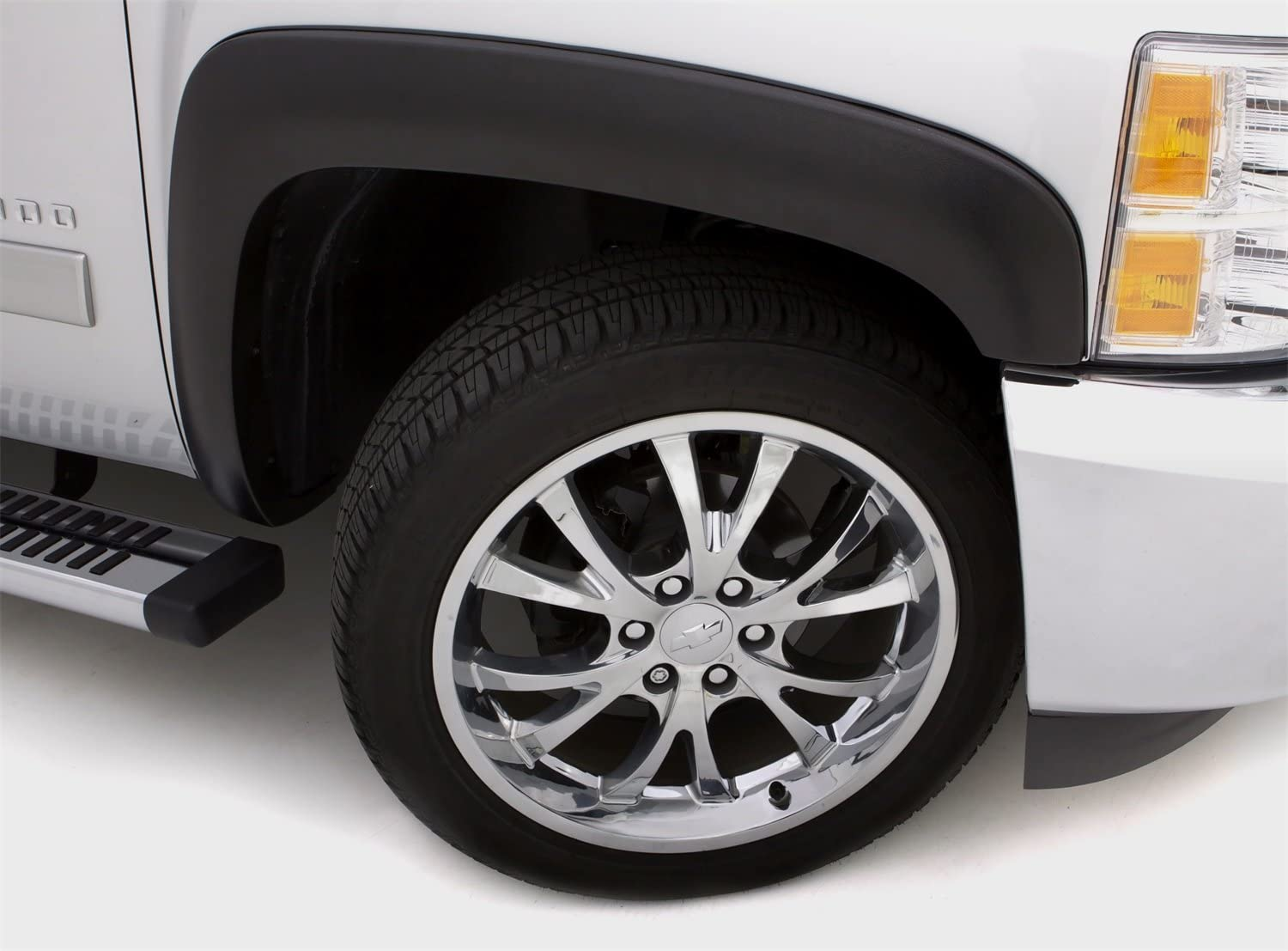 Lund SX108T Elite Series Sport Style Fender Flare for 2015-2019 Chevrolet Colorado Textured Finish, 4pc