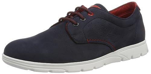 Panama Jack Domani, Zapatos de Cordones Oxford para Hombre, Gris (Grey), 46 EU