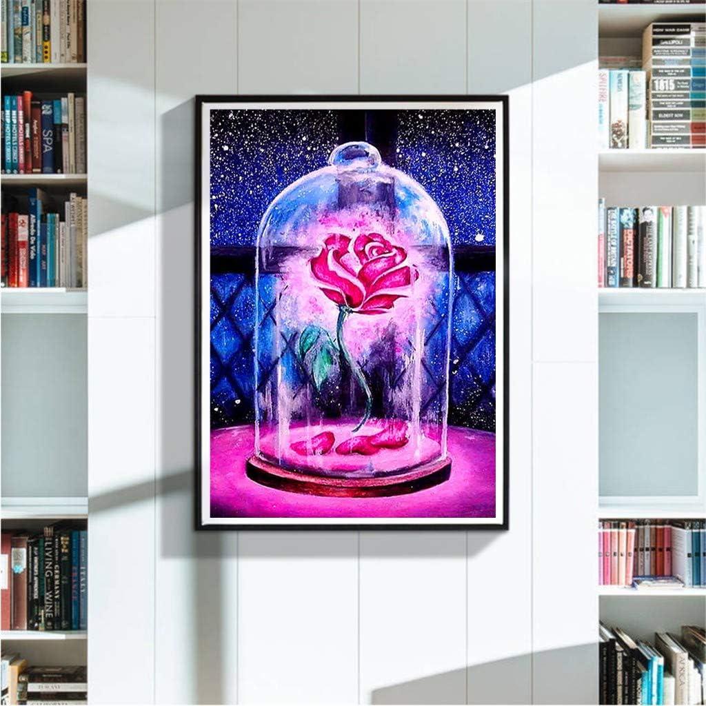 Full Diamond Painting Voller Stickerei Malerei f/ür Home Wanddekoration SULISO DIY 5D Diamant Malerei Kit