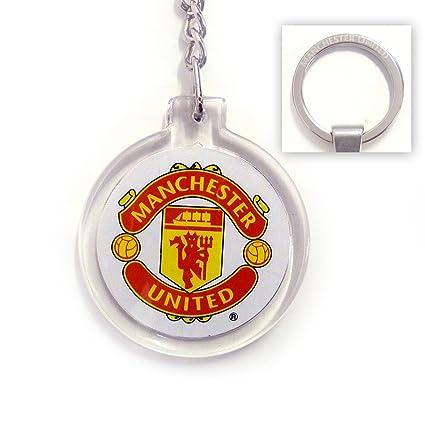 Amazon.com: Manchester United F.C. – Acrílico Llavero con ...