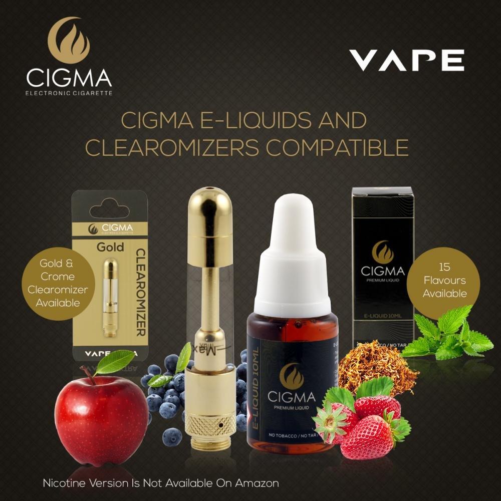 Cigma | E-líquido de 10ml | Tabaco | Fórmula de alta calidad | Para cigarrillos electrónicos | E Shisha | Garantía de devolución de dinero: Amazon.es: Salud ...