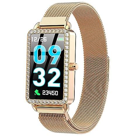 XMYL Mujer Elegante Smartwatch, Reloj Inteligente IP67 Impermeable ...