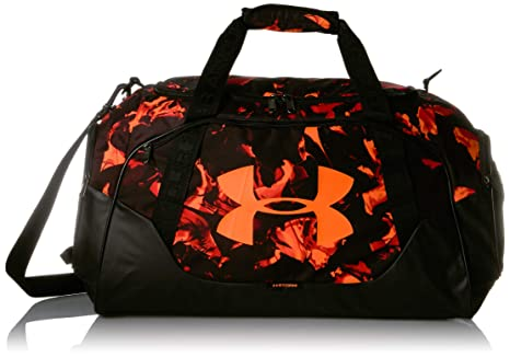 6f03d6a4a97 Under Armour Undeniable 3.0 Medium Duffle Bag, Papaya//Orange Glitch, One  Size