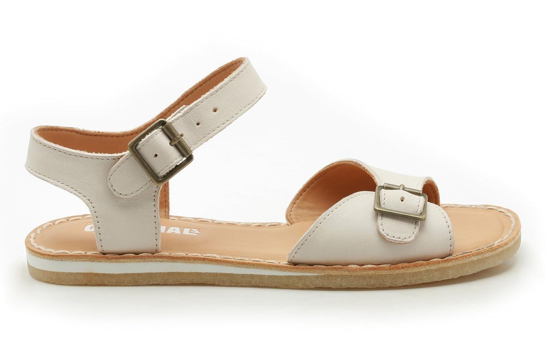 5d448e1c2911 Clarks Womens Originals Kestral Soar Leather Sandals In White   Amazon.co.uk  Shoes   Bags