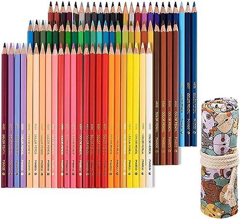 Tomkity 72 Lápices de Colores con Caja Regalo Ideal para Artistas, Adultos y Niños (72 Lápices+bolso): Amazon.es: Oficina y papelería