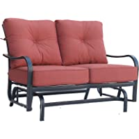 Riviera Loveseat Glider Chair with Cushion