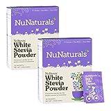 NuNaturals Nustevia White Stevia Powder, 100