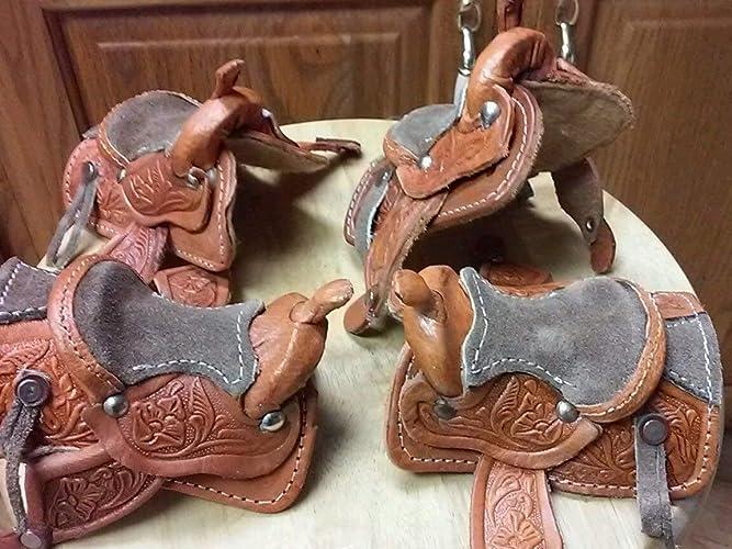 Johnny West Marx horse ONE custom western saddle