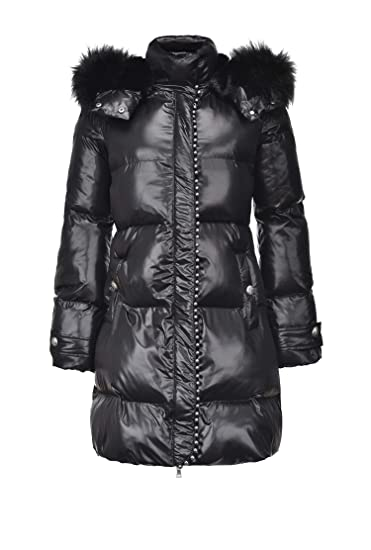 Pinko Black Pre Piumino Autunno Inverno 18 19 Taglia 44  Amazon.it   Abbigliamento e7d0fe0c8bf