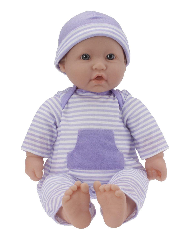 輸入ジェーシートイズ赤ちゃんおままごと JC Toys, La Baby 16-inch Washable Soft Body Purple Play Doll - For Children 2 Years Or Older, Designed by Berenguer [並行輸入品]   B01GFJTH9E