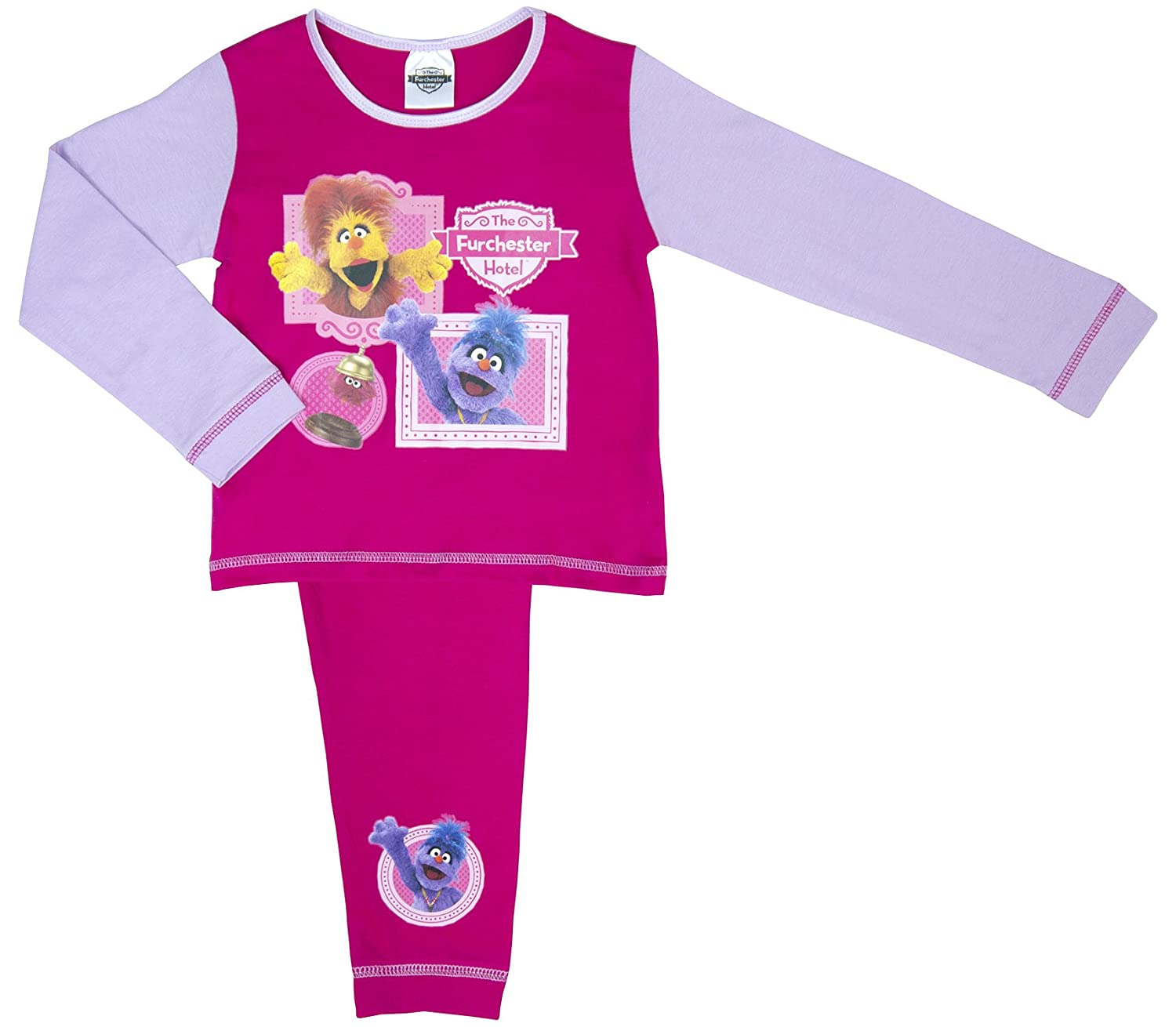 Cartoon Character Products The Furchester Hotel Pyjama Set - Ages 18 Months - 5 Years