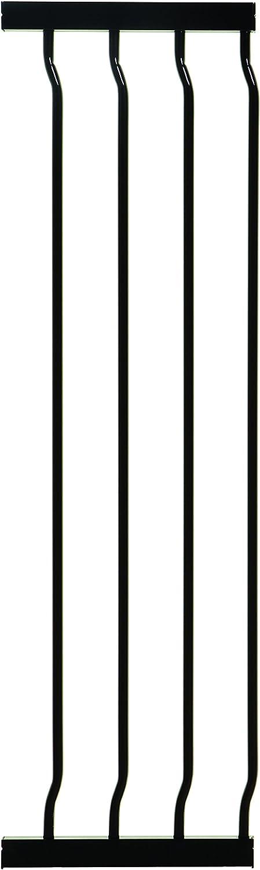 negra Dreambaby Extensi/ón 27 cm para la Barrera de Seguridad Liberty Extra Alta