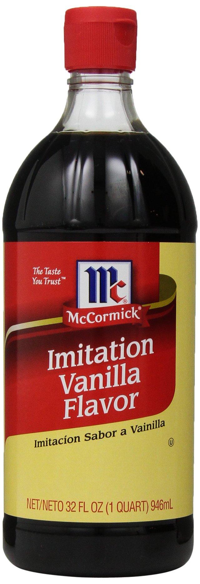 McCormick Imitation Vanilla Flavor, 32 Ounce