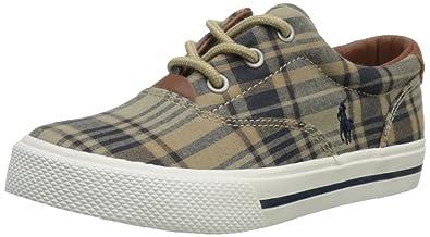 eb60084402d82 Amazon.com   Polo Ralph Lauren Kids Vaughn Lace-Up Sneaker (Toddler ...