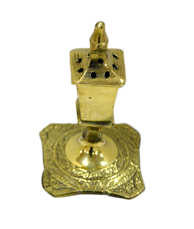 Aatm Decorative and Attractive Beautiful Brass Agarbatti Stand