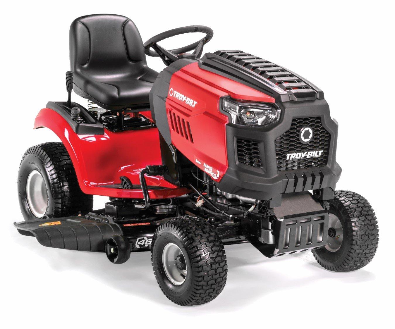 Troy-Bilt TB2246 22HP/656cc Twin Cylinder Foot Hydro Transmission 46-inch Riding Lawn Tractor