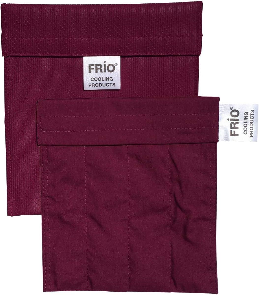 FRIO Insulin Pen Cooling Case, Reusable Evaporative Medication Cooler - Small Wallet, Burgundy