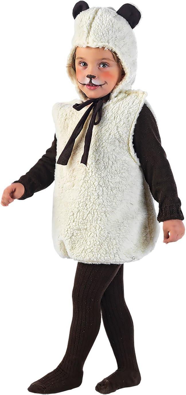 Limit Sport MB671 - Disfraz de oveja para niña (talla 86)