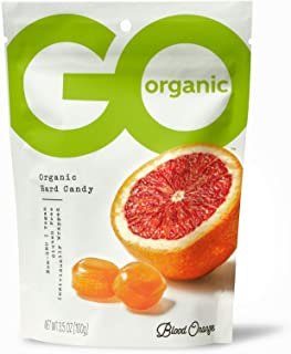 product image for GoOrganic Organic Hard Candies, Blood Orange, 3.5 Ounce Bag (Pack of 6)