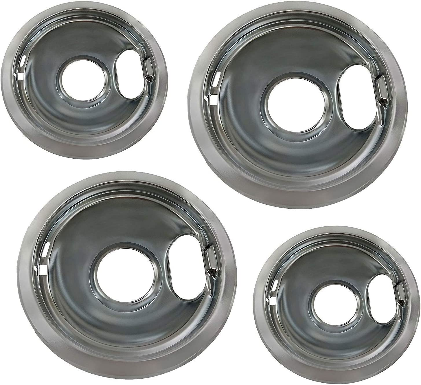 Oven Range Drip Pan Set that works with Whirlpool WFC310S0EW0