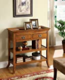 Wickenburg Antique Oak Finish Console Table