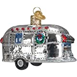Old World Christmas Vintage Trailer Glass Blown Ornament